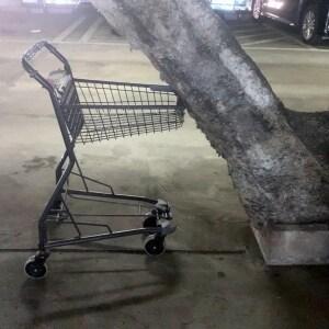 駐車場で「ゴツン!」ショッピングカートがぶつかってきた…責任はだれに?