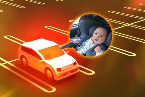 熱中症の危機、車内の子ども「窓割って救出」しても大丈夫? くわ使った女性が話題