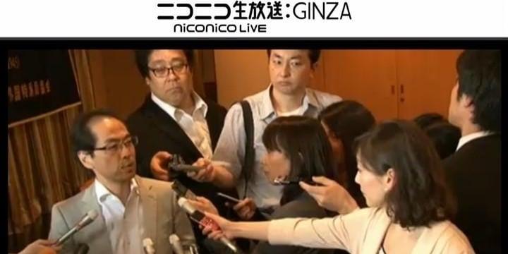 古賀茂明氏、フジテレビのレポーターと公開問答「あなたに批判される謂われはない」