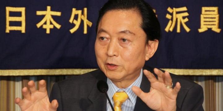 クリミア訪問の鳩山由紀夫氏「政府ができないことをやるのが元首相の責任だ」