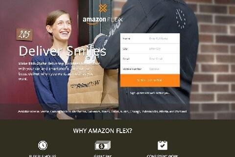 一般人が商品を配達する「Amazon Flex」米国で開始、リスクはないのか?