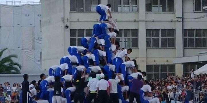 巨大ピラミッドで負傷者「組体操は禁止するべき」との意見も・・・弁護士はどう見る?