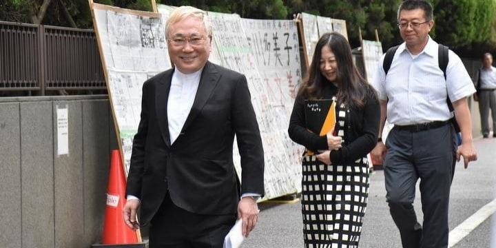 高須院長「イエス高須クリニックのキャッチコピーは亡き妻が遺した宝」意見陳述で涙