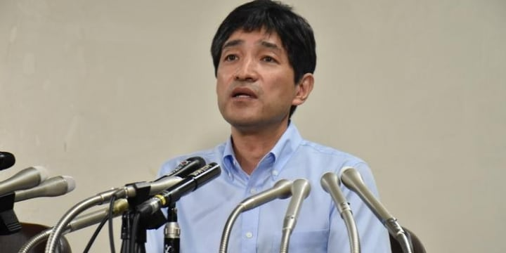 上祐氏「私も重大な責任がある」会見でアレフ批判も、麻原彰晃死刑囚ら7人死刑執行