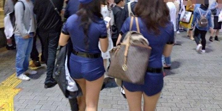 渋谷ハロウィン「こんな堂々と痴漢されるもんなの?」逮捕者続々、露出度高い衣装に「自己責任論」も