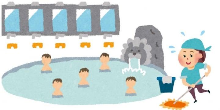 男湯に入ってくる「女性清掃員」、男性客は困惑…法的には?