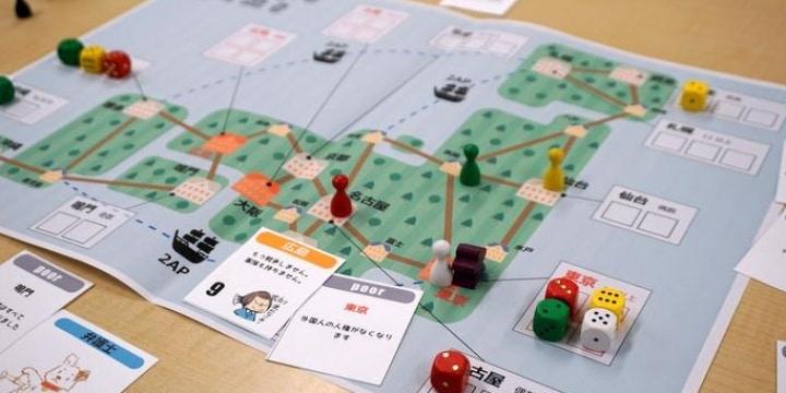 ボードゲームの達人「憲法」を楽しくしてしまう 協力プレーで日本守る、8月発売