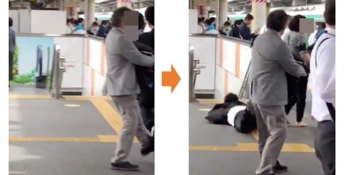駅で「逃げる痴漢」に足を出して転ばせた男性、「暴行罪になる」は本当?